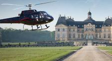 Baptême en hélicoptère - vol découverte des Châteaux de l'Essonne