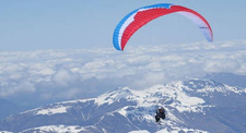 Vol en parapente à ski au Tourmalet