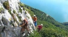 Journée de Via Ferrata, Paddle et Canoë à Chambéry