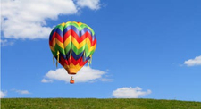 Vol en montgolfière - Tour à Cheverny dans le ciel du du Loir-et-Cher