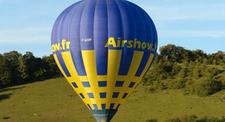 Vol en montgolfière - balade au dessus de Giverny en Normandie