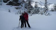 Randonnée en raquettes aux Monts d'Olmes