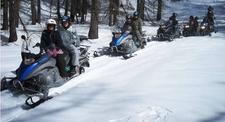 Randonnée en Motoneige à Valberg