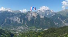 Baptême et pilotage en Parapente - Vol à l'Alpe d'Huez