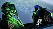Simulateur en avion de chasse sur F16 Falcon à Bordeaux