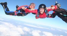 Saut d'initiation PAC en parachute à Maubeuge