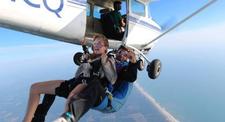 Saut en Parachute Tandem à St Tropez