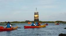Kayak en mer près de Guérande