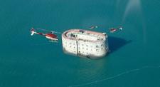 Baptême en hélicoptère - Survol de Fort Boyard et sa région depuis Rochefort