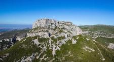 Vol en hélicoptère au dessus des Massifs de Provence