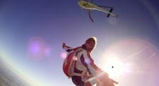 Saut en Parachute Tandem d'un hélicoptère à Chalon-sur-Saône