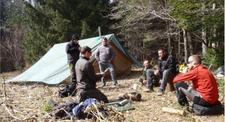 Stage d'initiation à la survie à Millau