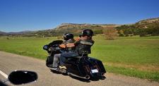 Balade Passager en Harley-Davidson près de Cannes