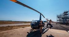 Baptême en Hélicoptère - Vol au-dessus du Tarn, d'Albi, Castres et Gaillac