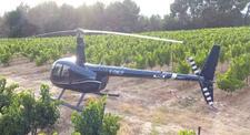Baptême en Hélicoptère - Vol au-dessus de l'Aveyron et du viaduc de Millau