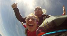 Saut en Parachute Tandem près de Tarbes en Hautes-Pyrénées