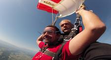 Saut en Parachute Tandem près de Auch en Hautes-Pyrénées
