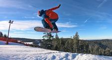 Cours privé de snowboard au Lac Blanc dans les Vosges