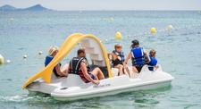 Balade en pédalo dans le Golfe de Saint Tropez