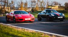 Pilotage Multivolants : Porsche Cayaman S et Ferrari 360 - Circuit d'Andrézieux