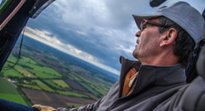 Vol en montgolfière sur le marais de poitevin entre la Vendée et les Deux Sevres