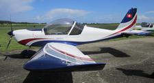 Initiation au pilotage d'avion léger au dessus de Côte Picarde depuis Eu
