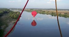 Vol en montgolfière - tour et balade au dessus du Château de Chenonceau