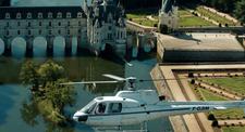 Baptême en hélicoptère - Survol des Châteaux de la Loire