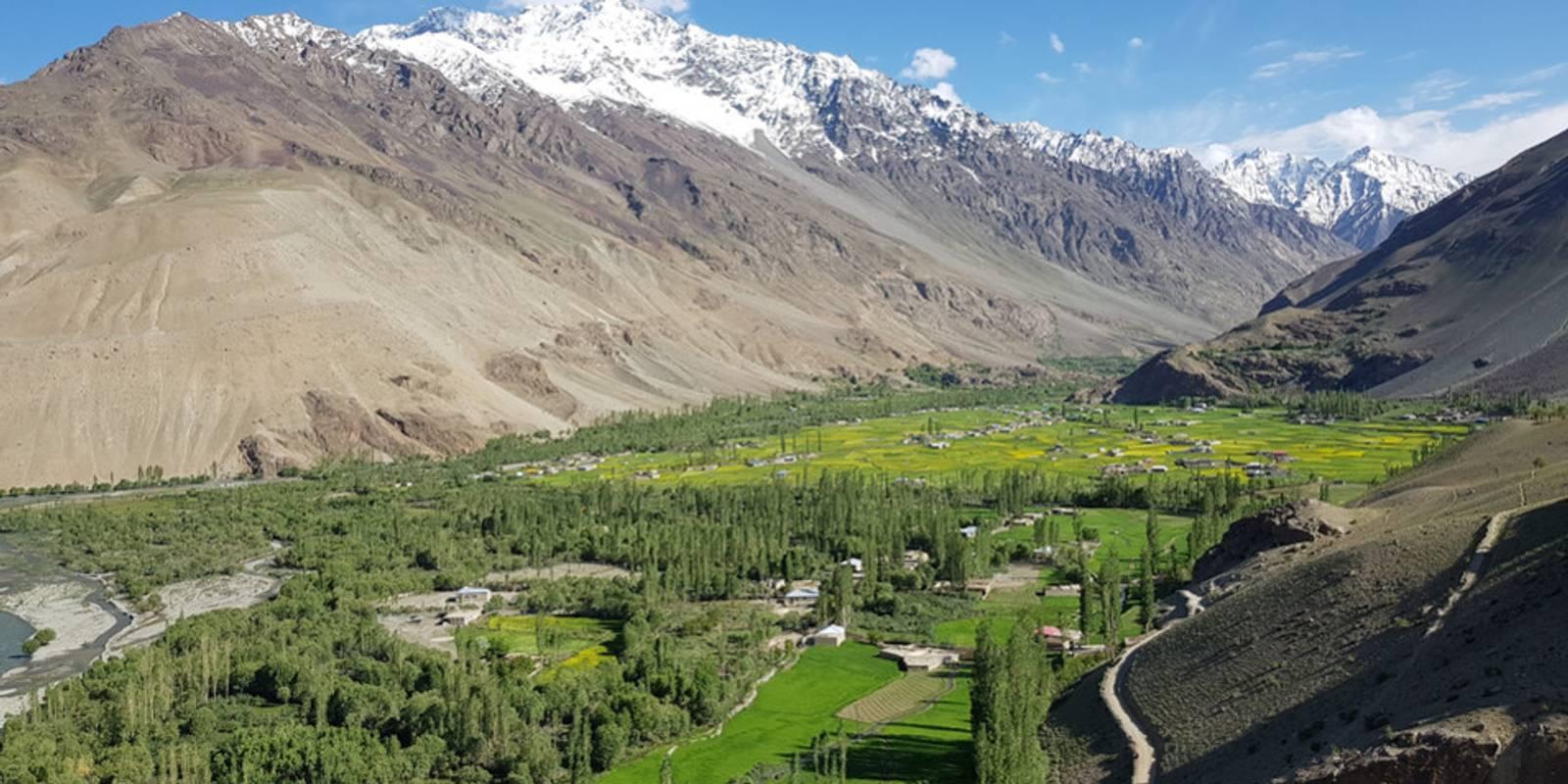 Vallées de l'Hindou Kouch et du Karakorum