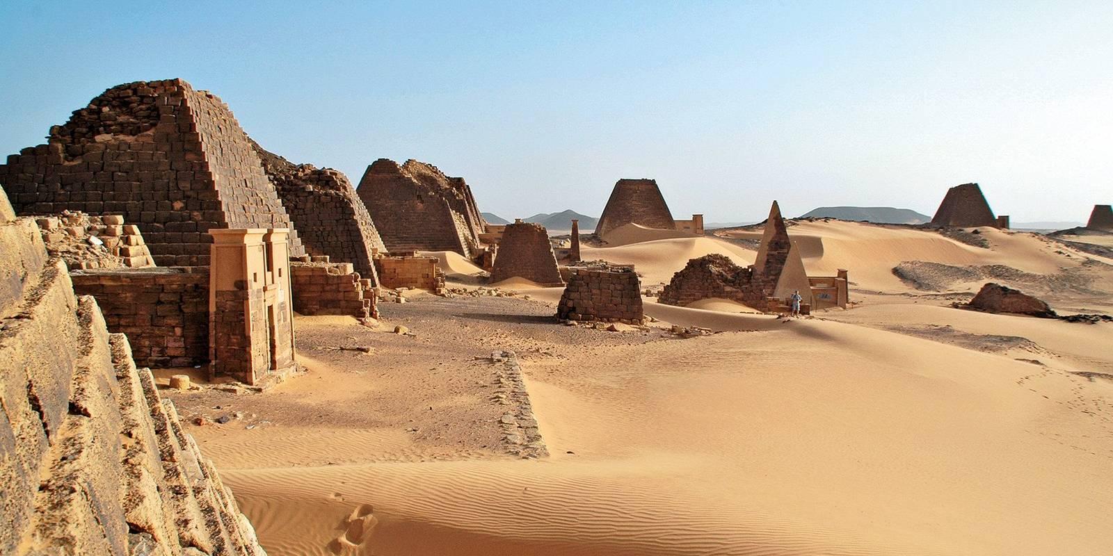 Royaumes antiques et déserts de Nubie