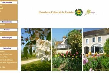Chambres d'hôtes La Fontaine à Gy-L'Évêque (Chantal Moyer)