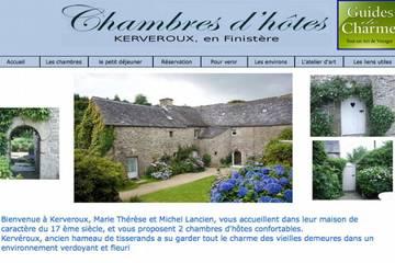 Chambres d'hôtes Kerveroux à Commana (Marie-Thérèse et Michel Lancien)