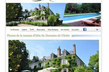 Chambres d'hôtes Domaine de Vilotte à Ardenais (Jacques Champenier)