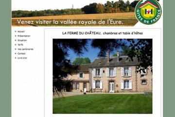 Chambres d'hôtes La Ferme du Château à Bailleau l'Evêque (Nathalie et Bruno Vasseur)