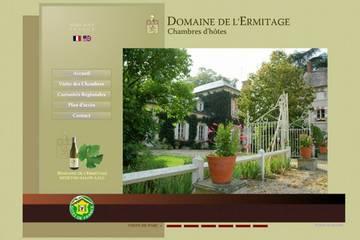 Chambres d'hôtes Domaine de l'Ermitage à Berry-Bouy (Laurence et Géraud de La Farge)