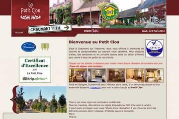 Chambres d'hôtes Le Petit Clos à Chaumont-sur-Tharonne (René Baril et Thierry Le Moing)