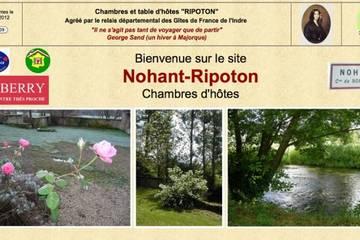 Chambres d'hôtes Ripoton à Nohant-Vic (Martine Collomb)