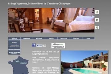 Chambres d'hôtes La Loge Vigneronne à Changy (Corinne et J.P. Menu-Jacquier)