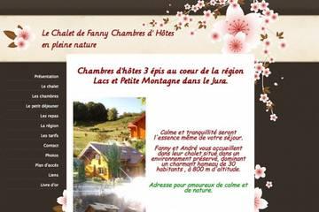 Chambres d'hôtes le Chalet de Fanny à Cernon (Françoise et André Lamarche)