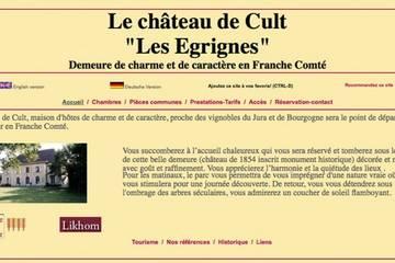 Chambres d'hôtes Le château de Cult Les Égrignes à Cult (Fabienne et Roland Lego-Deiber)