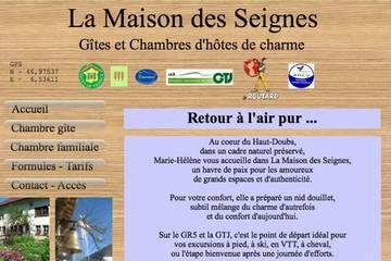 Chambres d'hôtes La Maison des Seignes à Les Gras (Marie-Hélène et Hervé Poulalion)