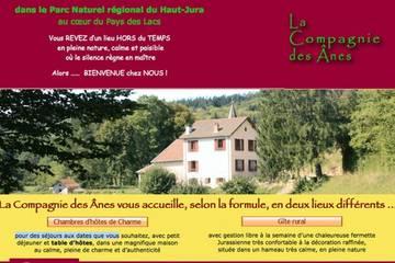 Chambres d'hôtes La Compagnie des Anes à Martigna (Françoise et J-M Bessières)