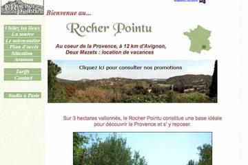 Chambres d'hôtes Le Rocher Pointu à Aramon (Annie et André Malek)