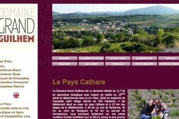 Chambres d'hôtes Domaine Grand Guilhem à Cascastel-des-Corbières (Famille Contrepois)
