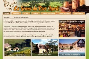 Chambres d'hôtes La Ferme du Père Igord à Montferrand-du-Périgord