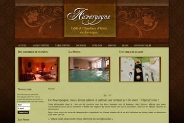 Auvergogne table et chambres d'hôtes en Auvergne