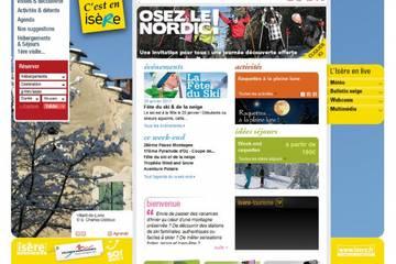 Comité départemental du tourisme de l'Isère - Isère Tourisme
