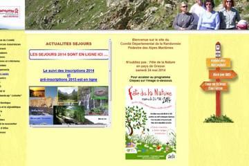 Comité départemental de la randonnée pédestre des Alpes Maritimes