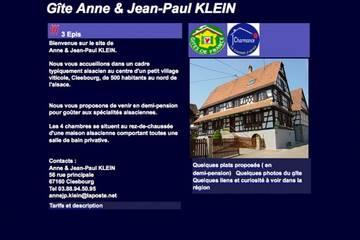 Chambres d'hôtes à Cleebourg (Anne et Jean Paul Klein)