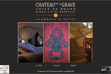 Chambres d'hôtes Le Château de la Grave à Bourg-sur-Gironde (Philippe et Valérie BASSEREAU)